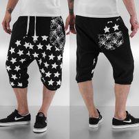 Just Rhyse Star Shorts Black