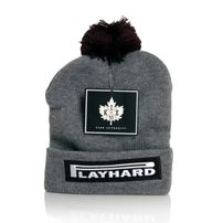 K1x Play Hard Bommel Beanie Grey Heather 1153-5240-8801