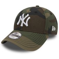 DĚTSKÁ KŠILTOVKA NEW ERA 9FORTY YOUTH MLB LEAGUE BASIC NEW YORK YANKEES CAMO