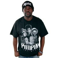 Mafioso Clothing Pimpin Aint Easy Tee Black
