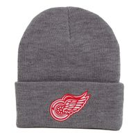 Kulich Mitchell & Ness NHL Team Logo Cuff Knit Beanie Detroit Red Wings