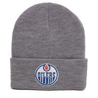 Kulich Mitchell & Ness NHL Team Logo Cuff Knit Beanie Edmonton Oilers