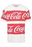 Mr. Tee Coca Cola Stripe Oversized Tee white