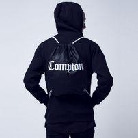 Mr. Tee Compton Gym Bag Black White