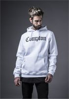 Mr. Tee Compton Hooded Bandana Hoody white