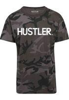Mr. Tee Hustler Logo Camo Tee dark camo