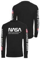 Mr. Tee NASA US Crewneck black