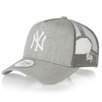 Kšiltovka New Era 9Forty MLB Heather Truck NY Yankees Heather Grey