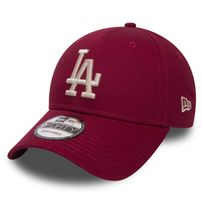 Kšiltovka New Era 9Forty MLB League Essential LA Dodgers Cardinal Red