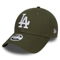 Dámská kšiltovka New Era 9Forty Womens Essential LA Dodgers Rifle Green