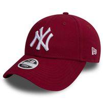 Dámská Kšiltovka New Era 9Forty Womens Essential NY Yankees Cardinal Red