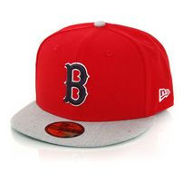 New Era Heathered Out Boston Red Sox Team Grey