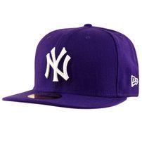 New Era MLB Basic NY Yankees Purple White