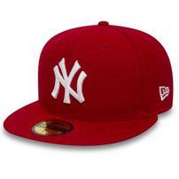 New Era MLB Basic NY Yankees Red White