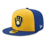 New Era MLB BP Milwaukee Brewers Diamond Cap