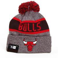 Kulich New Era NBA Marl Knit Chicago Bulls Gray Red