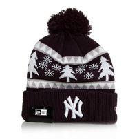 New Era Team Snow Pine Bobble NY Yankees