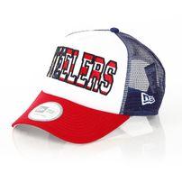 New Era Trucker America Steelers Cap
