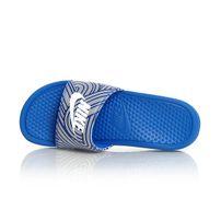 Nike BENASSI JDI PRINT Racer Blue White Black 631261-412