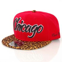 Raw Blue Leo Snapback Red Gold