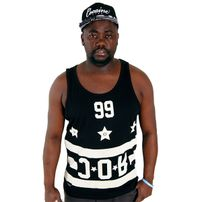 Rocawear Hoodstar Black Flag Tank Top Black R1401T052-100