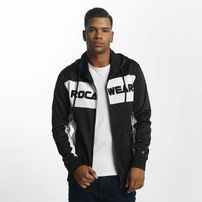 Rocawear / Zip Hoodie Sports in black