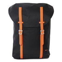 Spiral Classic Hampton Backpack Bags Black Neon Orange