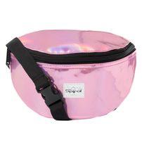 Spiral Pink Rave Bum Bag