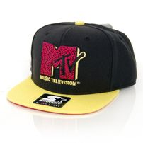 Starter MTV Infill Icon Logo SB Black Yellow