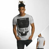 Thug Life Blind T-Shirt Grey Melange