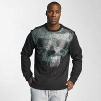 Thug Life Goldteeth Sweatshirt Black