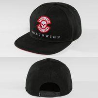 Thug Life / Snapback Cap Panther in black