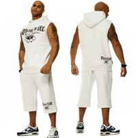 Thug Life Street Fighting II Set White