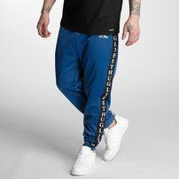 Pánské tepláky Thug Life Two Stripes Sweatpants Blue