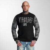 Pánská mikina Thug Life Zombi Sweatshirt Grey