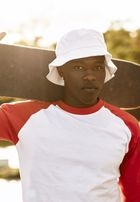 Urban Classics Flexfit Cotton Twill Bucket Hat white