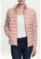 Urban Classics Ladies Basic Down Jacket light rose