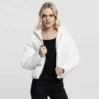 Urban Classics Ladies Hooded Oversized Puffer Jacket offwhite