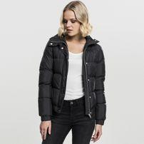 Urban Classics Ladies Hooded Puffer Jacket black
