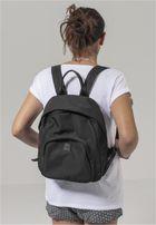 Urban Classics Midi Nylon Backpack black