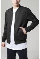 Urban Classics Sweat Bomber Jacket black