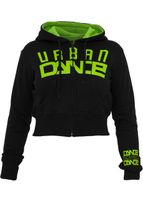 Urban Dance Urban Zip Hoody blk/lgr