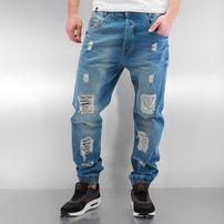 Who Shot Ya? Axel  Antifit Jeans Light Blue Denim