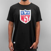 Who Shot Ya? Collegebro T-Shirt Black