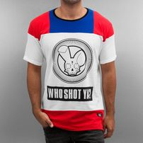 Who Shot Ya? Logo T-Shirt White