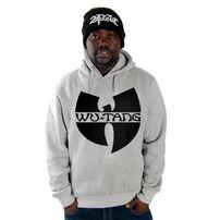 Wu-Wear Logo Hoodie Grey