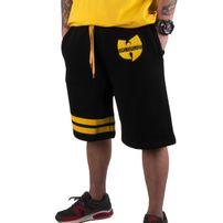 Wu-Wear Wu Tang Clan 36 Sweatshort Black Yellow
