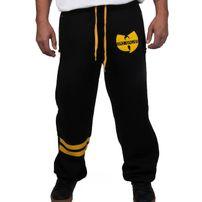 Wu-Wear Wu Tang Clan 36 WU Sweatpants Black Yellow
