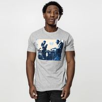Wu-Wear Wu-Wear Chess Tee heather grey