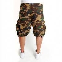 2-Pac Enemy Cargo Shorts Wood Camo